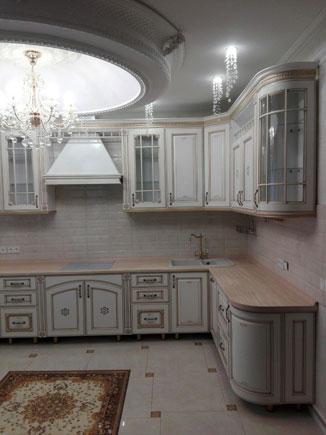 Кухонный гарнитур с итальянскими фасадами