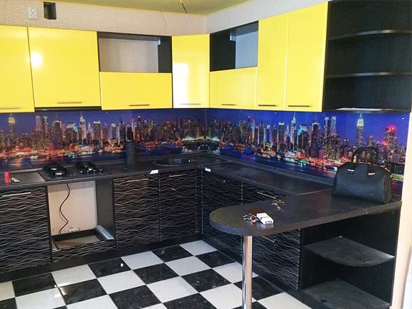 Кухонный гарнитур «Ночной город»